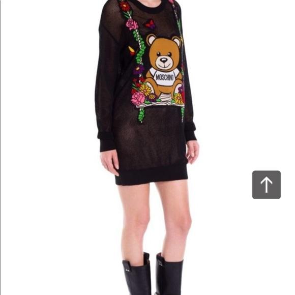 Moschino Dresses & Skirts - Moschino Bear Floral Swing Dress